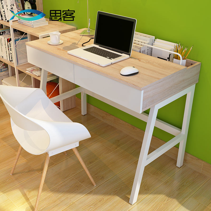 best hakka desktop computer desk with desk ikea simple wood tables with children 39 s desk drawer 1. Black Bedroom Furniture Sets. Home Design Ideas