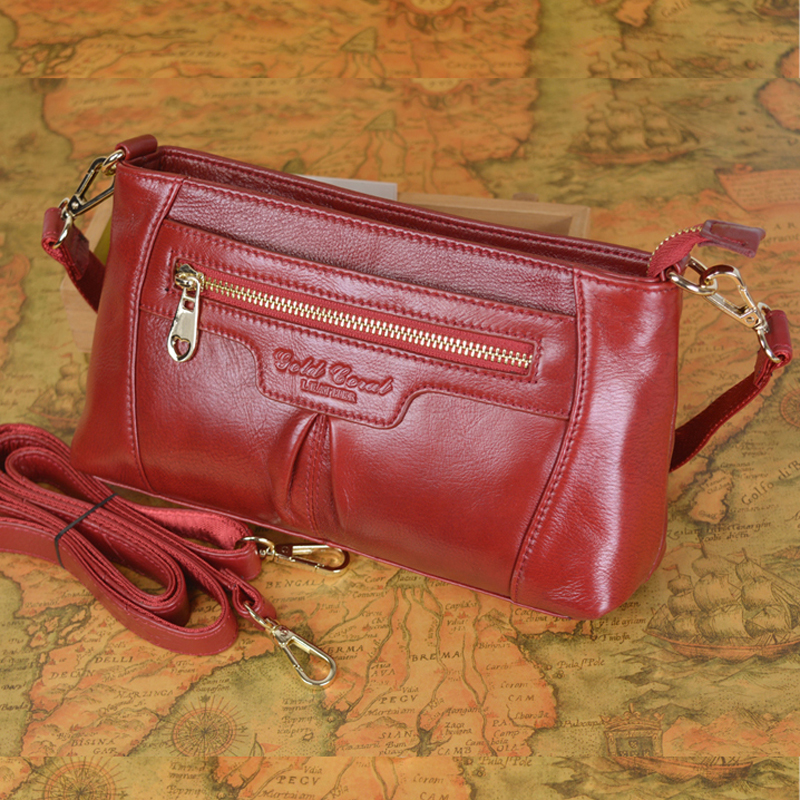 New fashion women messenger bags ladies genuine leather shoulder crossbody bags women wallets clutch bag purse women's handbags women handbags new fashion pu leather party clutch bags soft fold over phone purse lady shoulder bag superfine messenger bag