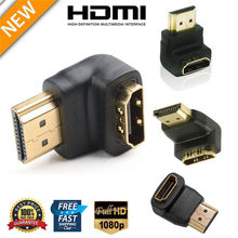 90/270 Derajat HDMI Adapter Male To Female L-Jenis Dukungan Resolusi 4K HDCP Arc HEC Converter dengan Projector Layar LCD Alat(China)