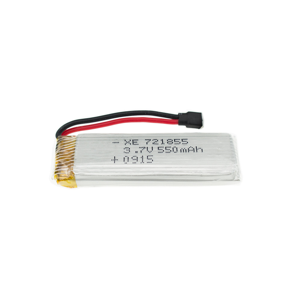 3.7V 550mah 25C Lipo Battery For Wltoys V930 V977 V988 <font><b>721855</b></font> For E50S E50 JRC H37 XK K110 RC Helicopter Drone Spare Part image