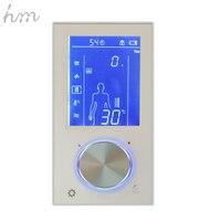 Hm цифровой клапан Душ управление ler 3 способа светодио дный светодиодный сенсорный экран управление термостат дисплей ЖК дисплей Smart мощнос