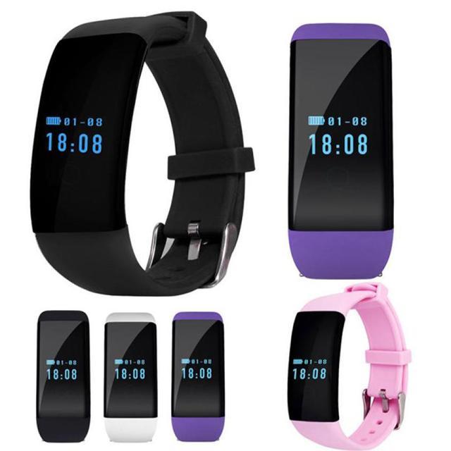 New 1pc WomenD21 Sport Bluetooth Smartwatch Heart Rate Monitor Health Tracker Slot Wrist Waterproof Bluetooth Smart Watch 30M 26