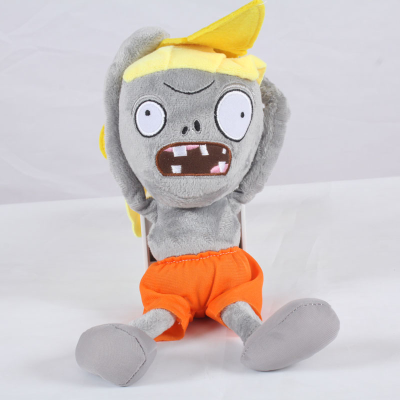 New Arrival Plants vs Zombies Plush Toys 30cm PVZ 2 Surfer Zombie Plush Toy Soft Stuffed Toys Doll for Kids Children Xmas Gifts