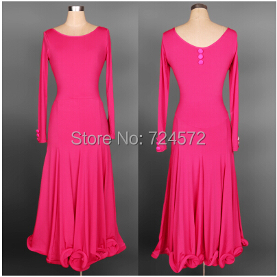 New arrival ballroom dance costume sexy long sleeves ice silk dress for women ballroom belly competition dress 4kinds fo colors
