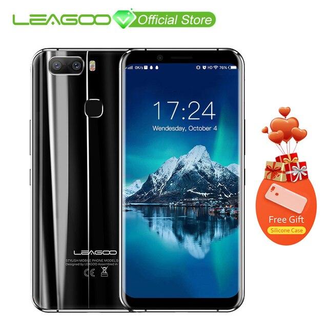 LEAGOO S8 Pro 5,99 дюйма 18:9 Дисплей Android 7,0 MTK6757 восьмиядерный смартфон 6 ГБ Оперативная память 64 GB Dual задней камерами отпечатков пальцев 4G телефон