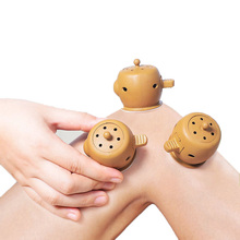 SHARE HO Moxibustion Box Chinese Moxa Sticks Burner Heating Acupuncture Point Chinese Therapy Women Gynaecopathia Mini Moxa Tube share ho 30pcs moxa artemisia tube self stick chinese moxibustion stickers therapy heating acupuntura point warm meridian