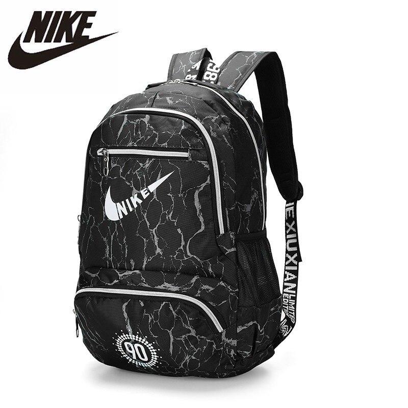 NIKE Canvas Backpack Large Capacity Breathable Gym Bag School Bag