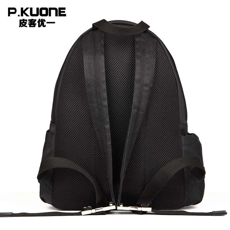 P.KUONE Nylon Men Backpacks 2018 New Fashion Male Shoulder Bag Luxury Laptop Small Design Waterproof Travel School Bag