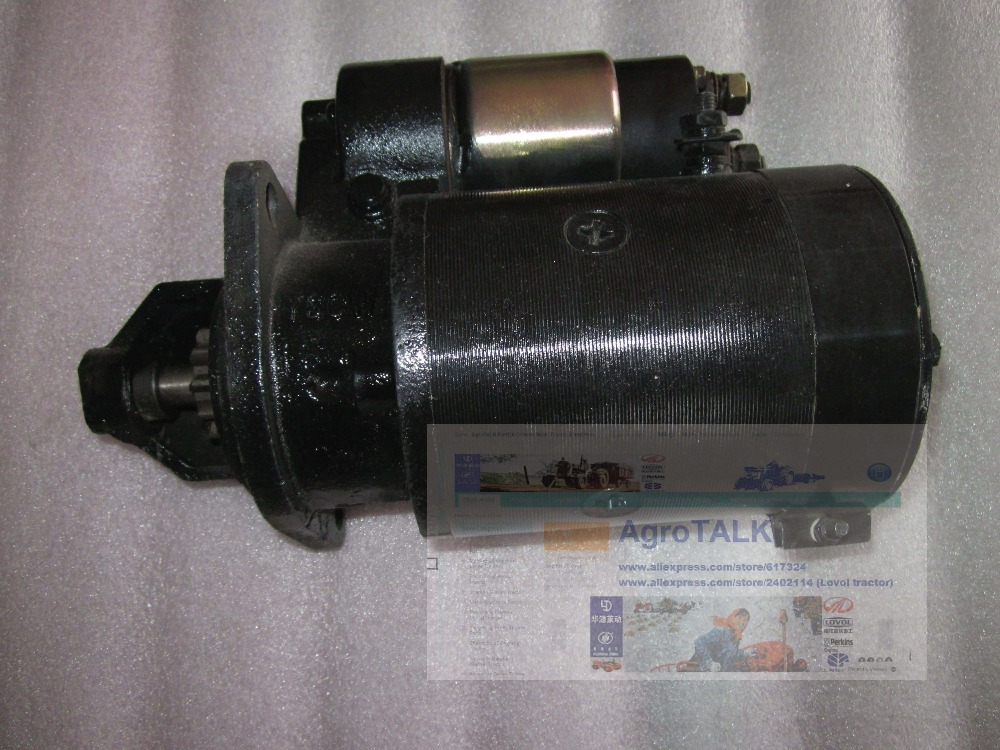 Fengshou estate 180, FS180 184, the starter motor of engine J285T, part number: corporate real estate management in tanzania