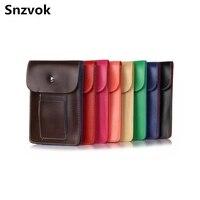 Snzvok Heißer Doppelkarte Leder Handytasche Schultertasche Tasche Brieftasche Pouch Umhängeband Für Kleiner Als 5,5 zoll Telefon modell
