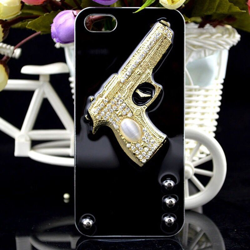 New Fashion Gun Pattern Mankind Masculine Cover For iPhone7 Male Silicone Mobile phone Cases For iPhone7 Coque For iPhone7plus