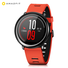 цена на Original Xiaomi Huami AMAZFIT Bluetooth 4.0 Heart Rate Monitor Sports Smart Watch GPS Real-time Track Wristband