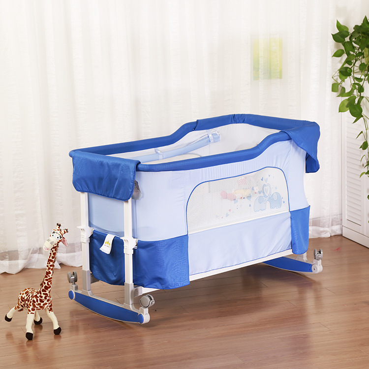 077f5d71e85e Multifunctional Baby Cradle Newborn Baby Bed Infant Portable Folding ...
