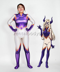 3D Printing Mt.Lady Cosplay Heroes Halloween Party Zentaibodysuit Costume Multi-size selection