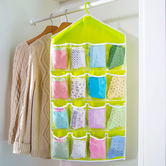 Wardrobe Bag Hanging Storage Bag Multi Layer Fabric Storage Bags Wall  Panties