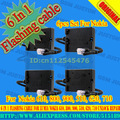 6 In 1 Flashing cable for Lumia Nokia 610, 800, 900, 510, 620, 710 unlock repair