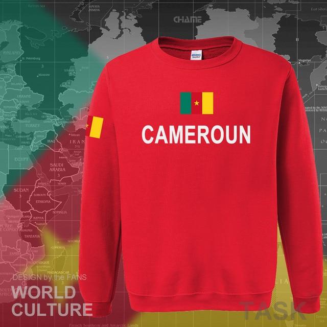Cameroon hoodies men sweatshirt sweat new hip hop streetwear tracksuit nation footballer sporting flag CMR Cameroun Cameroonian 4