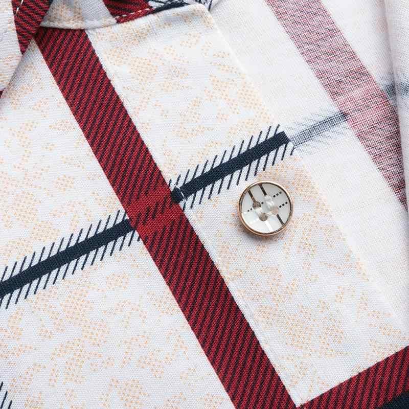 新着半袖シャツ 2019 高品質の夏半袖コットンシャツ男性カジュアルシャツ格子縞