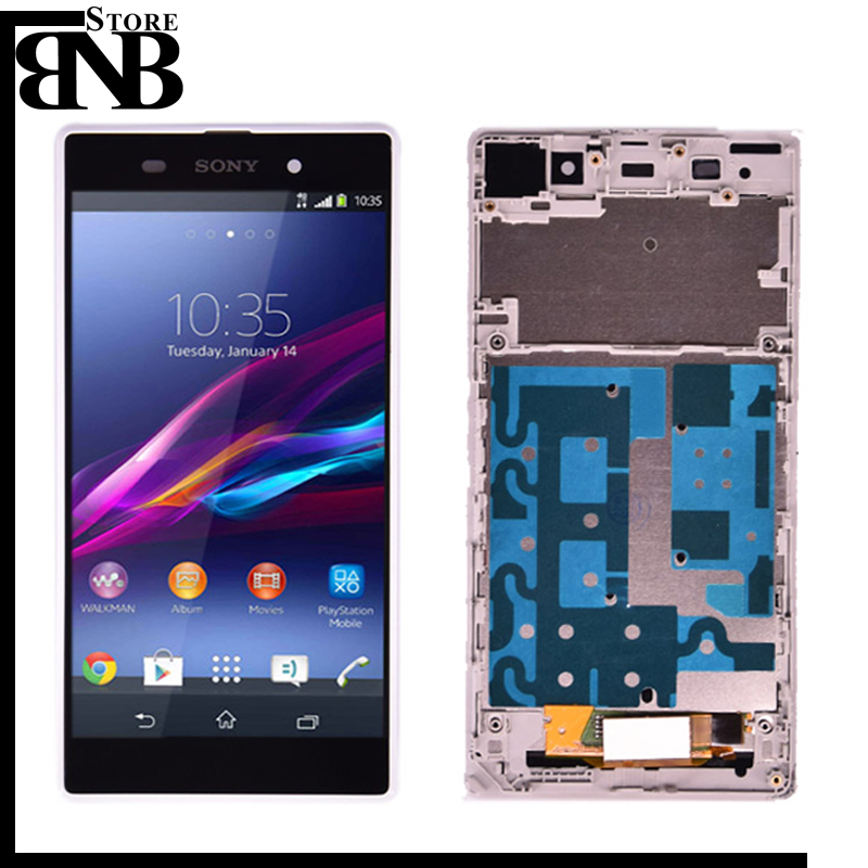 Original For Sony Xperia Z1 L39H C6902 C6903 LCD Display touch screen + digitizer Assembly  with frame free shippingOriginal For Sony Xperia Z1 L39H C6902 C6903 LCD Display touch screen + digitizer Assembly  with frame free shipping