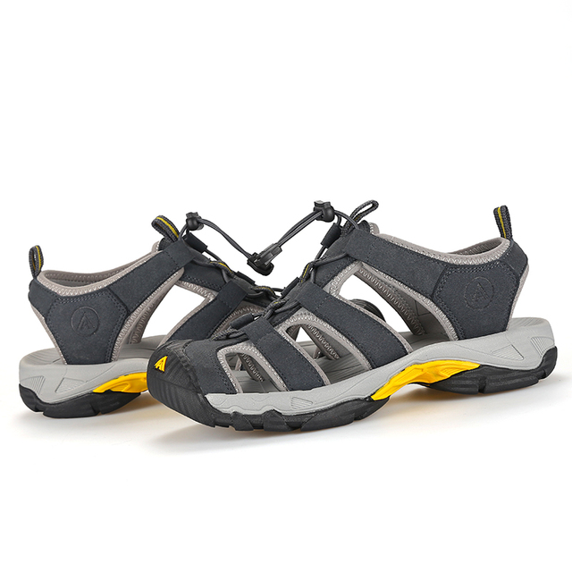Humtto Summer Men and Women Hiking Sandals 10