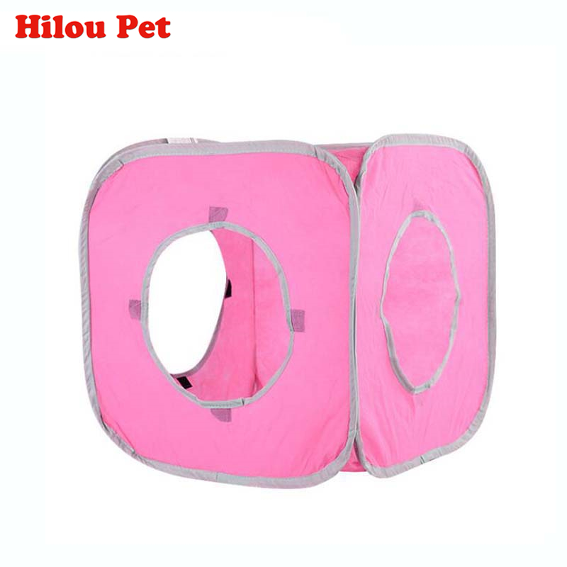 folding tunnel cat A folding tunnel tent for a cat-Free Shipping HTB1FCBvQFXXXXcKXFXXq6xXFXXXf
