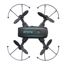 Linxtech IN1601 2.4G 720P Mini RC Drone with Camera Wifi FPV Foldable Altitude Hold Quadcopter Remote Control Helicopter Toys