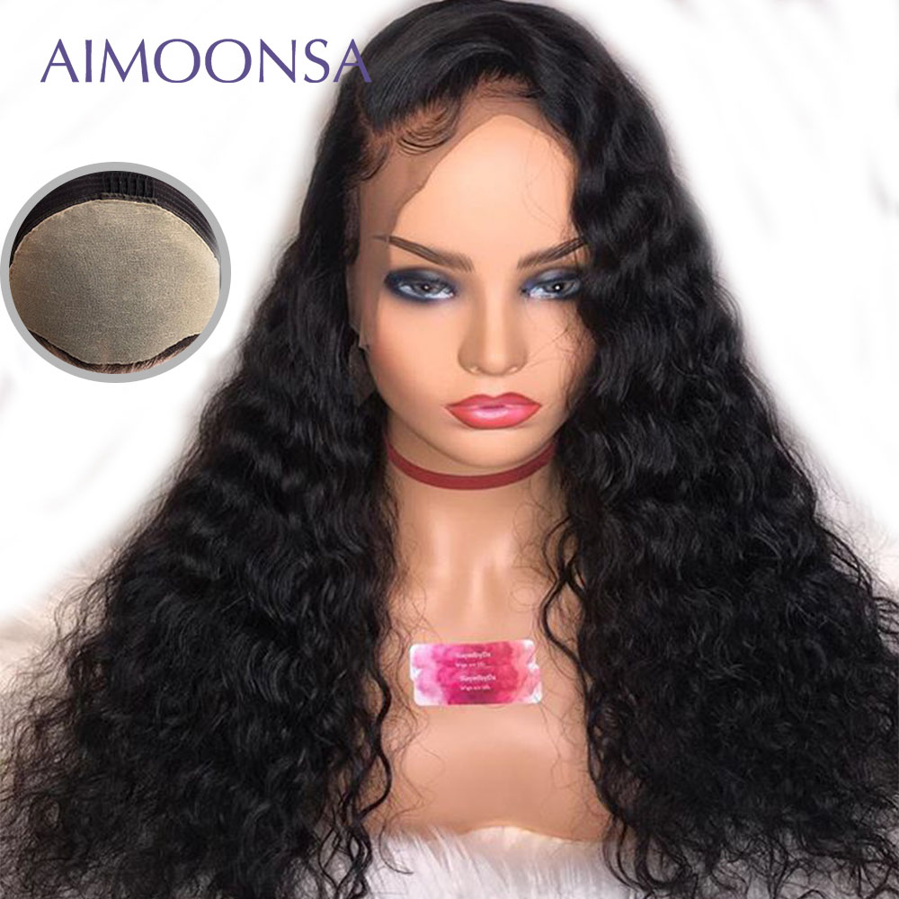 13x6 Silky Straight Fake Scalp Wig Deep Part Glueless Curly Wigs Lace Front Wigs With Baby