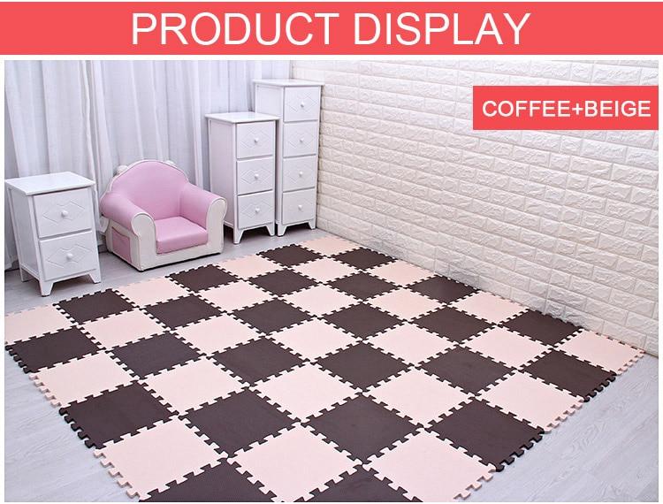 HTB1FCCNncnI8KJjSspeq6AwIpXa9 Baby EVA Foam Puzzle Play Mat /kids Rugs Toys carpet for childrens Interlocking Exercise Floor Tiles,Each:29cmX29cm