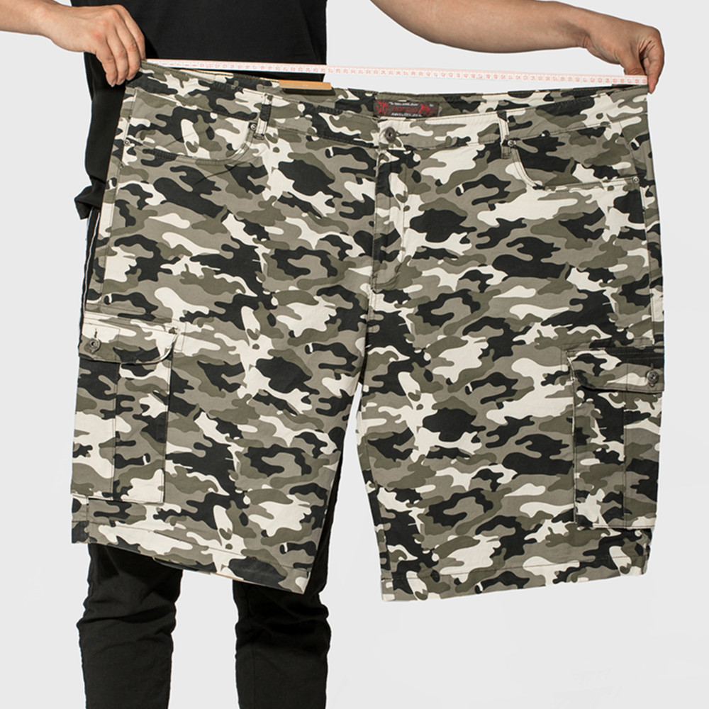 Harpia New Summer Men 39 s Camo Shorts Male Camouflage Loose Cargo Shorts Men Army Green Large Size 38 53 Cool Military Short Pants in Casual Shorts from Men 39 s Clothing