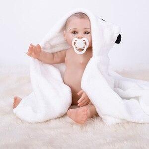Image 3 - Banho reborn bebê bonecas de corpo inteiro silicone bebe reborn bebês bonecas boneca brinquedos para crianças presentes aniversário