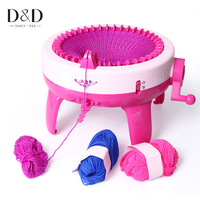 Manual Knitting Machine Weaving Loom Educational Learning Baby Kids Toys DIY Loom Wool Hat Sweater