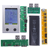 Batteria Checker Per iPhone Battery Tester 7 7 P 6 6 P 6 S 6SP 5 5 S SE 4 4 S Batteria Attivatore Chiaro Conteggio di Ciclo