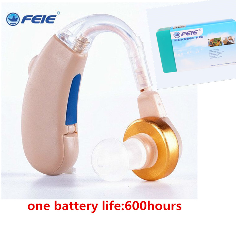 Cheap Hearing Aid Analog Wire Tube Sound Amplifier Earphone hearing enhancers S-288 Behind the ear gifts for Mom Free Shipping