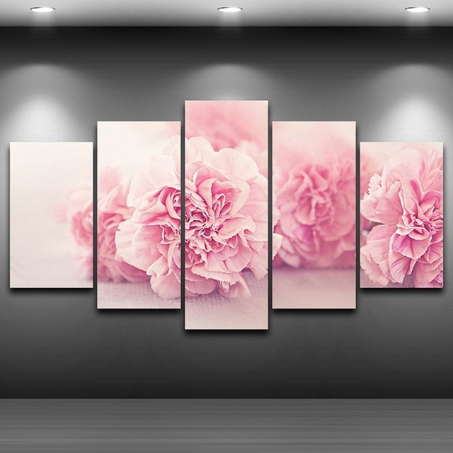 Modular Pictures HD Printed Canvas On Oil Paintings Frame For Living ...