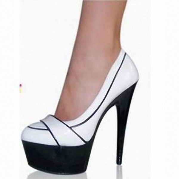 15 cm super high heels High color matching for shoes Japan and South Korea the new patent leather sexy nightclub shoes