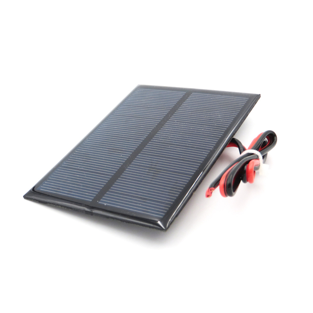 5 V 200mA 1 Watt W extend wire Solar Panel Polycrystalline Silicon DIY Battery Charger Small Mini Solar Cell cable toy 5V Volt 5