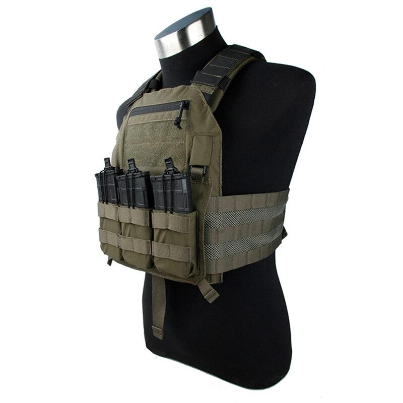 TMC gilet tactique 420 plaque transporteur armure corporelle Molle Airsoft gilet militaire tactique gilet 2745