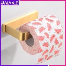 Toilet Paper Holder Creative Brass Decorative Paper Towel Holder Rack Wall Mounted Bathroom Tissue Roll Paper Hanger Gold недорого