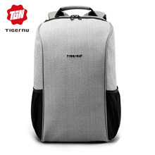 New Tigernu Brand Men Anti theft cut scratch Backpacks Bags 15.6 inch Laptop Backpack Women large capacity travel Mochila(China)