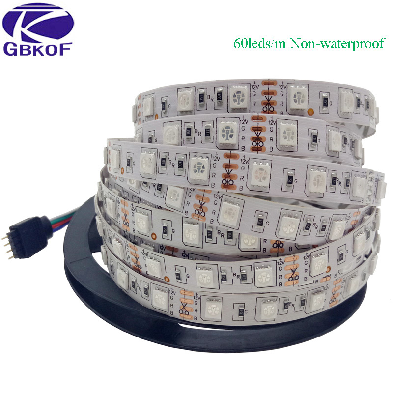 Tiras de Led rgb led strip 5050 rgb Shippment : Free Shipping