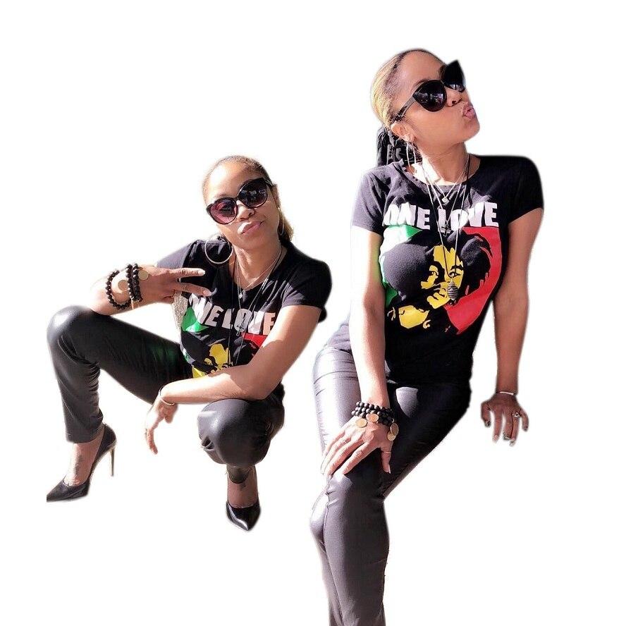 Womens XXXL Tops Shirt 2018 New Fashion Tee Shirt Femme Woman Print Tops Summer Women Black Ladies Cloth Club Short Sleeve