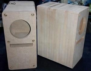 Image 4 - IWISTAO HIFI 2 Inch Labyrinth Full Range Speaker Empty Cabinet 1 Pair MDF Wood Board Adhesive Free Design