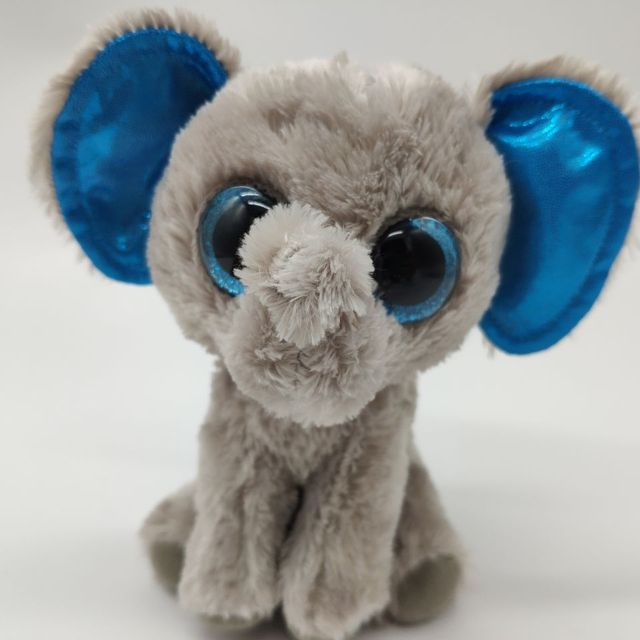 e2607e06c3e TY BEANIE BOOS 1PC 15CM PEANUT elephant BIG EYES Plush Toys Stuffed animals  kids