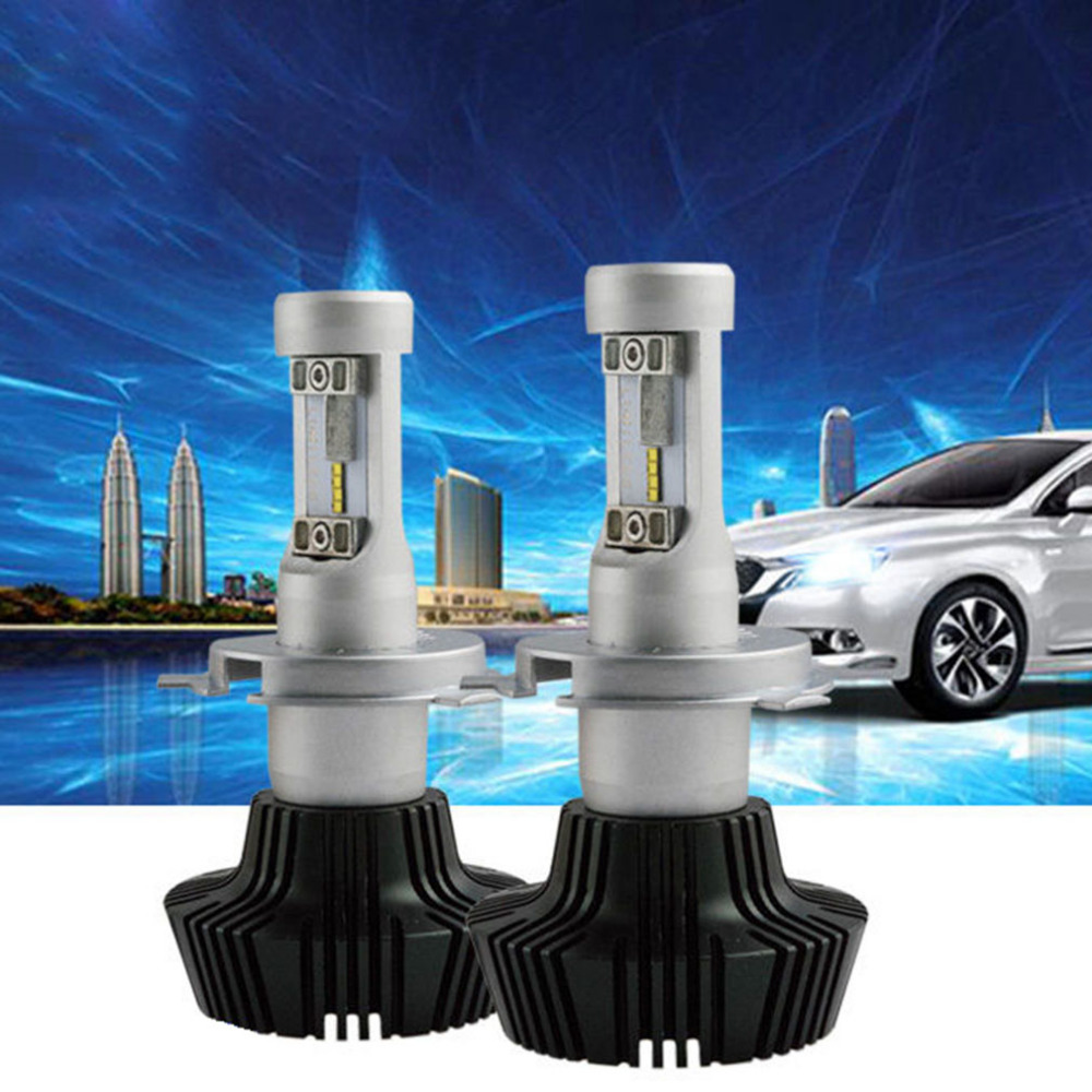 2 x LED Chips Light 160W 16000LM H4 9003 HB2 H1 H7 H8 H9 H11 9006 H3 Headlight Kit H/L Beam Bulbs 6000K pair 9600lm w cree cob chips h1 h3 h4 h7 h8 h9 h11 880 881 9005 9006 9012 car led headlight kit bulbs 6000k white