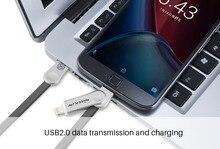 Nillkin Оригинальный micro usb разъем кабель micro usb для iphone кабель для зарядки быстрое Зарядное Устройство Для i5 i6 iphone 6 s plus iphone 5 5s se
