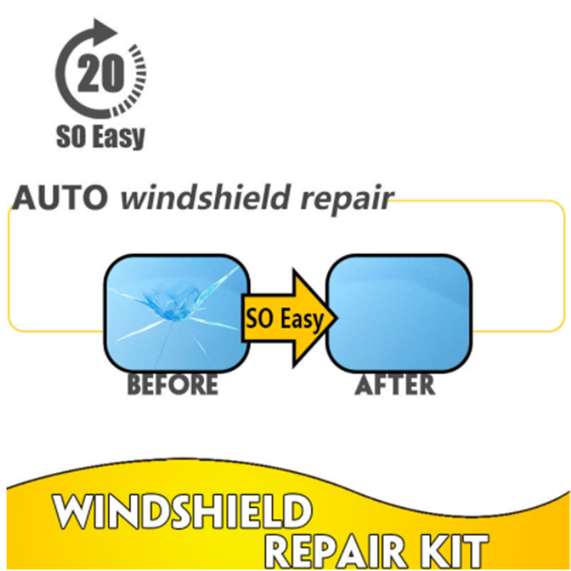 Auto glass repair fluid .Damaged glass is restored as is. for Geely EMGRAND 7 X7 EC7 GC7 SC7 VISION Great wall H6 H3 C30 M4