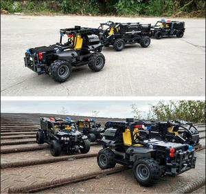 Image 4 - Technic RC Car Building Blocks Remote Control Race Model SUV Technology Build Modular DIY Bricks Toys For Kids