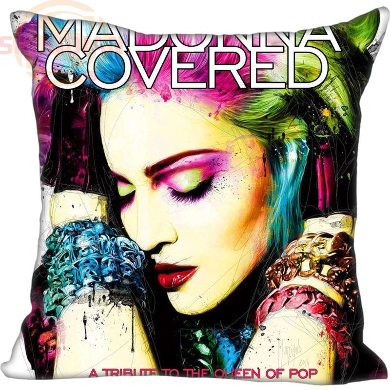 High Quality Custom Decorative Pillowcase Madonna Square Zippered Pillow Cover Print Your image 20X20cm,35X35cm(one side)