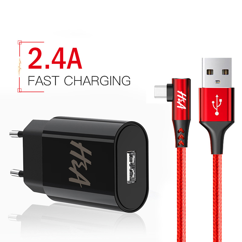 H&A Universal USB Charger Portable Wall Travel EU Plug For Ss