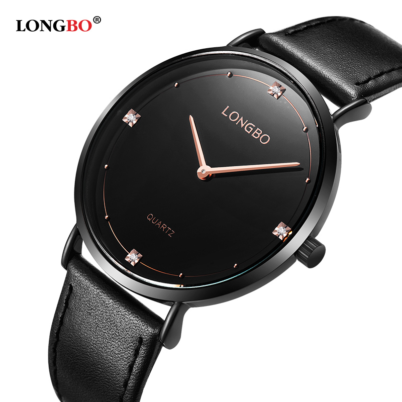 Fashion Longbo Brand New Fashionlovers Watches Luxury Top Quality Leather Men Women Simple Casual Couple Waterproof Gifts 5056